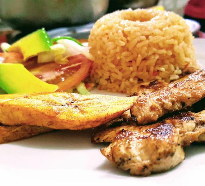 Almuerzo en Bocagrande, Cartagena