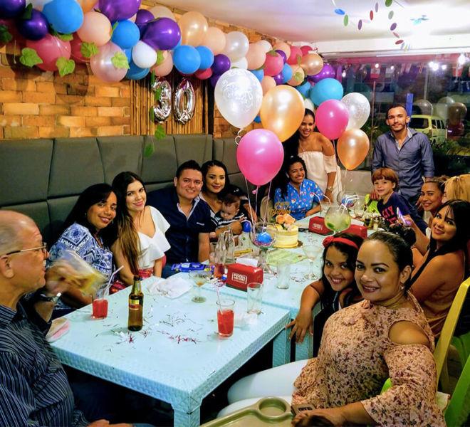 Cumpleaños en Cartagena